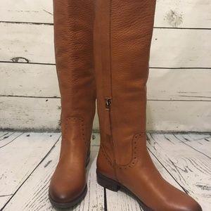 Sam Edelman Prina Whiskey Leather Riding Boot